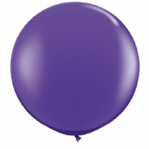 3ft Giant Balloons - Purple Violet Latex Balloon 1pc
